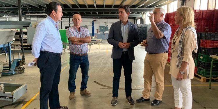 Visita de la Junta a las instalaciones de Tesoricoop