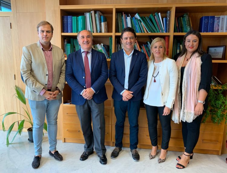 Responsables políticos, entre ellos el alcalde, José Ignacio Landaluce