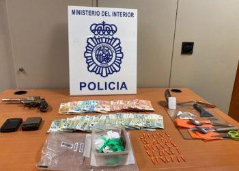 Desmantelan un punto de venta de cocaína (Archivo)
