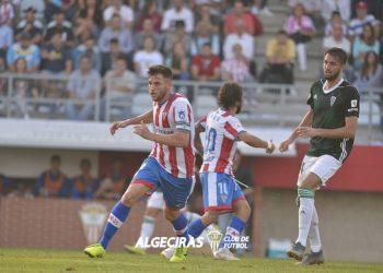 Una imagen de un partido del Algeciras