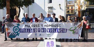 Protesta en la Plaza Alta
