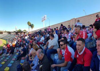 Buena entrada de aficionados en el Iberoamericano de San Fernando