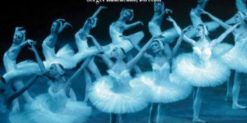 Cartel anunciador del espectáculo de ballet