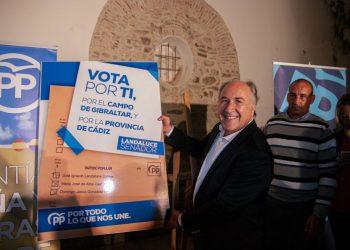 El candidato al Senado del PP, José Ignacio Landaluce.