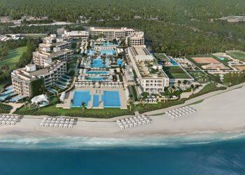 Vista aérea del hotel Ikos Andalusia.