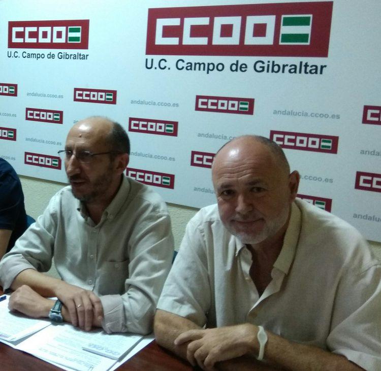 Manuel Triano y José Luis Maitztegui