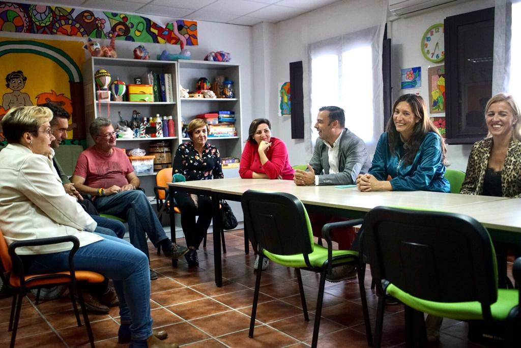Loles López, en su visita a Los Barrios