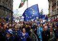Manifestación a favor de un segundo referéndum del Brexit. Agencias