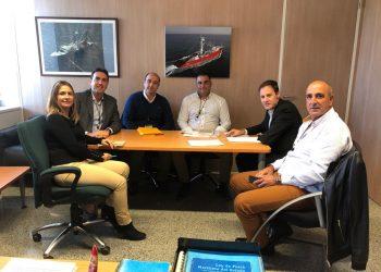 Un momento de la reunión en Madrid