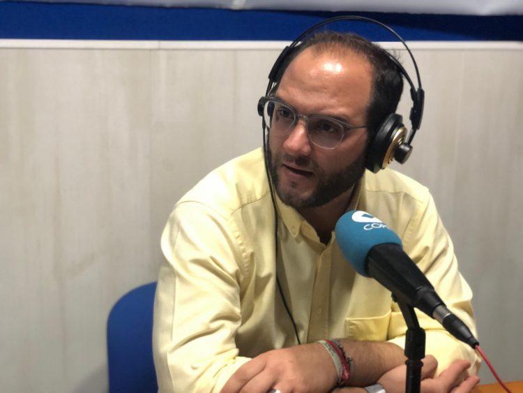 El alcalde de Castellar, en los estudios de COPE Campo de Gibraltar