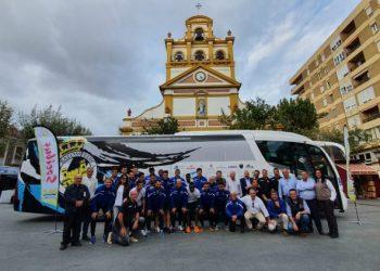 El autobús del éxito para la Balona.