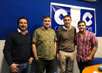 Francisco Ruiz en nuestros estudios de COPE Campo de Gibraltar