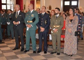 Misa con motivo del Día del Pilar en San Roque