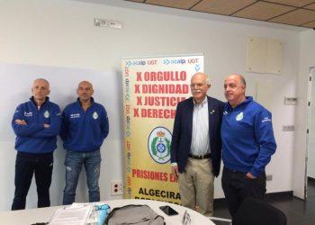 Rosety y miembros del sindicato, este lunes