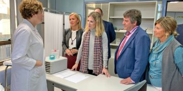 Mestre visita la nueva Unidad de la Inspección Médica
