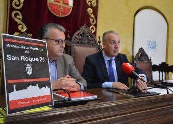 Ángel Gavino y Juan Carlos Ruiz Boix, en rueda de prensa