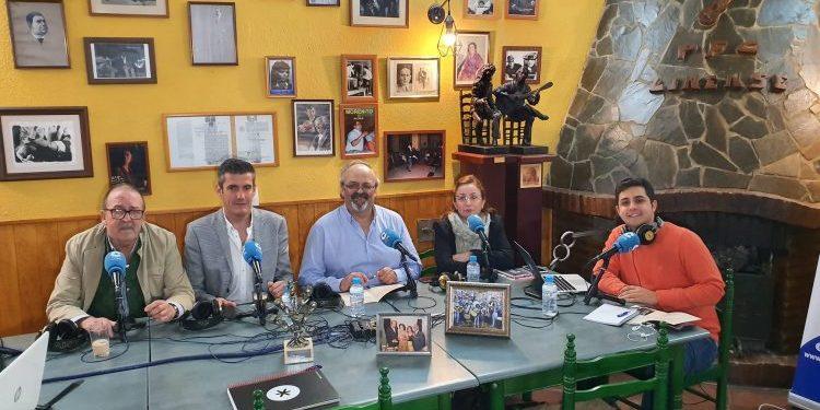 Herrera en Cope Campo de Gibraltar en la Peña Flamenca, este jueves