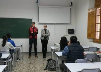 Sebastián Hidalgo acudió a la inauguración del curso de chino
