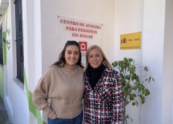Begoña Arana y Eva Pajares, este lunes