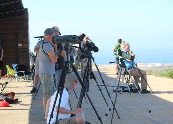 Visitantes en el Observatorio de Cazalla