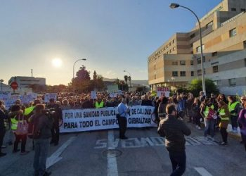 Manifestación en Algeciras el pasado 15 de noviembre