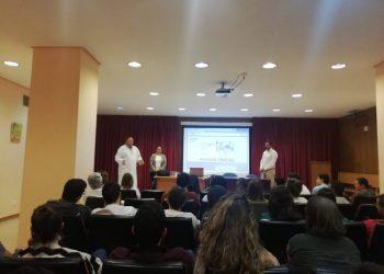 Presentación en el hospital Punta Europa