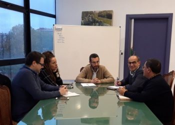 Reunión del Ayuntamiento, Apymell y Socibus
