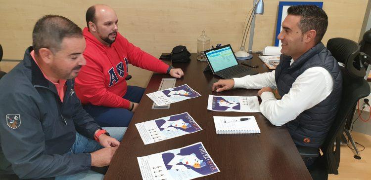 Reunión de Pablo García con 'A nuestro aire'
