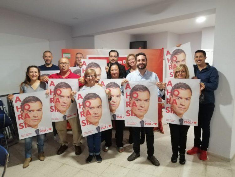 El PSOE barreño se moviliza