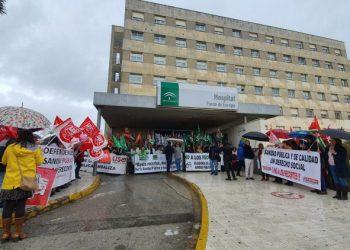 Los sanitarios salen a la calle a exigir más personal para los hospitales