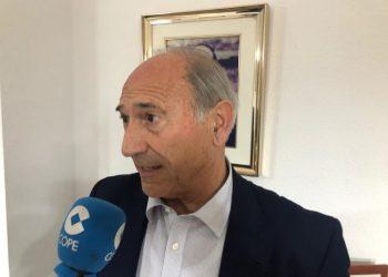 Ricardo Alfonso Álvarez durante la entrevista