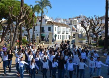 Flashmob de Vanesa Orrán en la Alameda