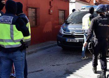Imagen de archivo de la Policía en el Zabal