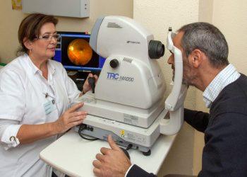 Imagen retinógrafo