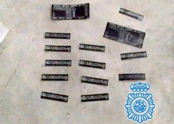 La trama maquillaba los vehículos con identificaciones falsificadas