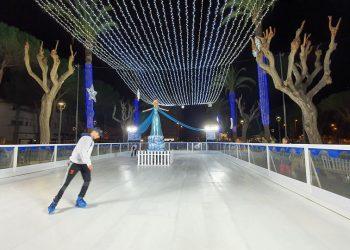 Pista de patinaje, recién estrenada