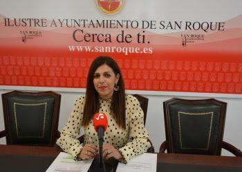 Belén Jiménez, en rueda de prensa
