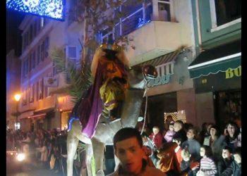 Cabalgata de Reyes Magos en Gibraltar
