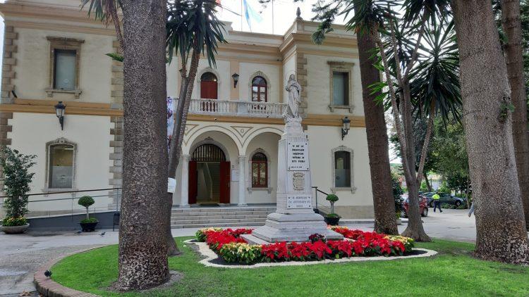 Fachada del Museo Cruz Herrera