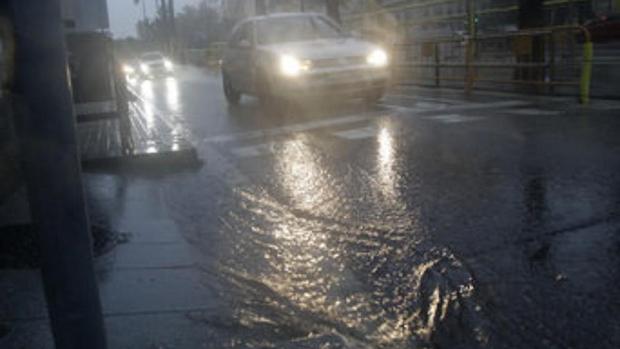 Previsión de fuerte temporal de lluvia para lo noche de hoy lunes