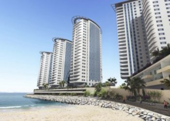 Proyecto Hassan Centenary Terraces del lado Este de Gibraltar