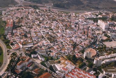 Vista panorámica de San Roque casco