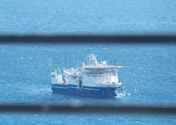 El buque oceanográfico. Archivo