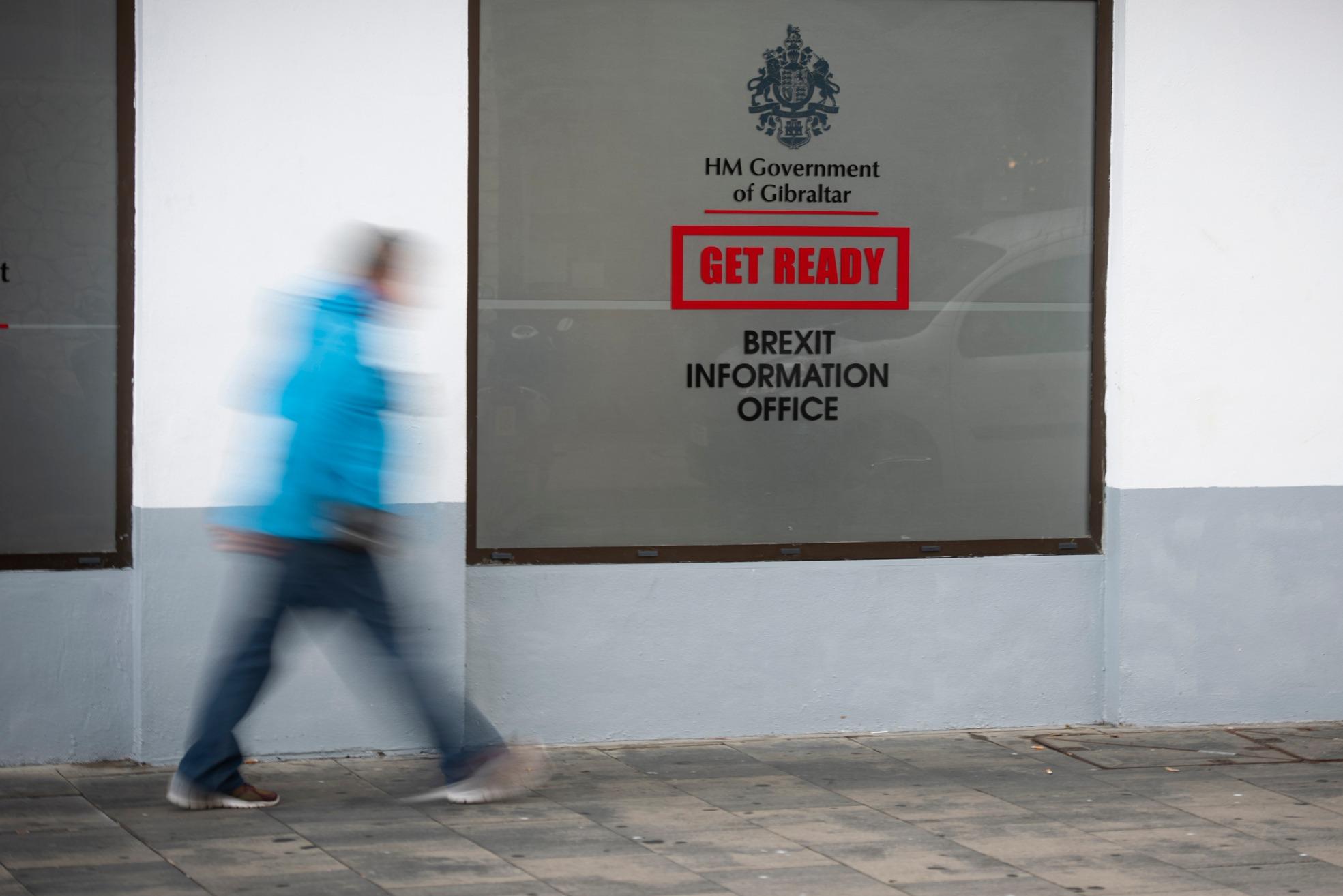 La Oficina del Brexit aporta información a la ciudadanía. Marcos Moreno