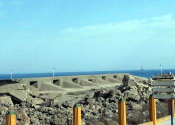 Vista del fuerte de Santa Bárbara