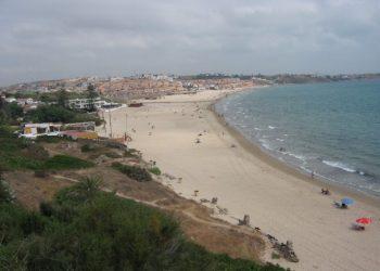Playa de Getares en una imagen de archivo