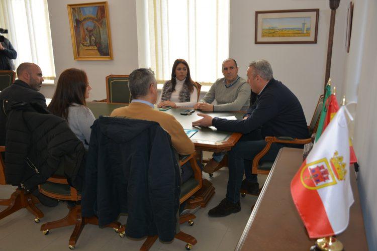 Reunión del AMPA con el alcalde