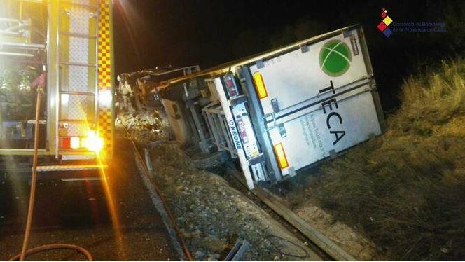 Accidente mortal en la A7