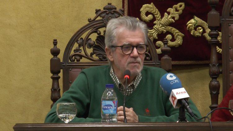 Francisco Muñoz, durante la presentación