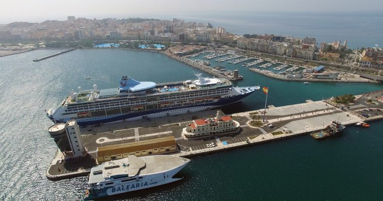 Instalaciones portuarias en Ceuta